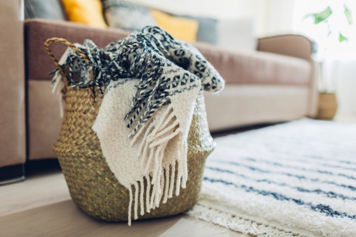 Cold Weather Organizing Ideas to Keep Your Home Cozy